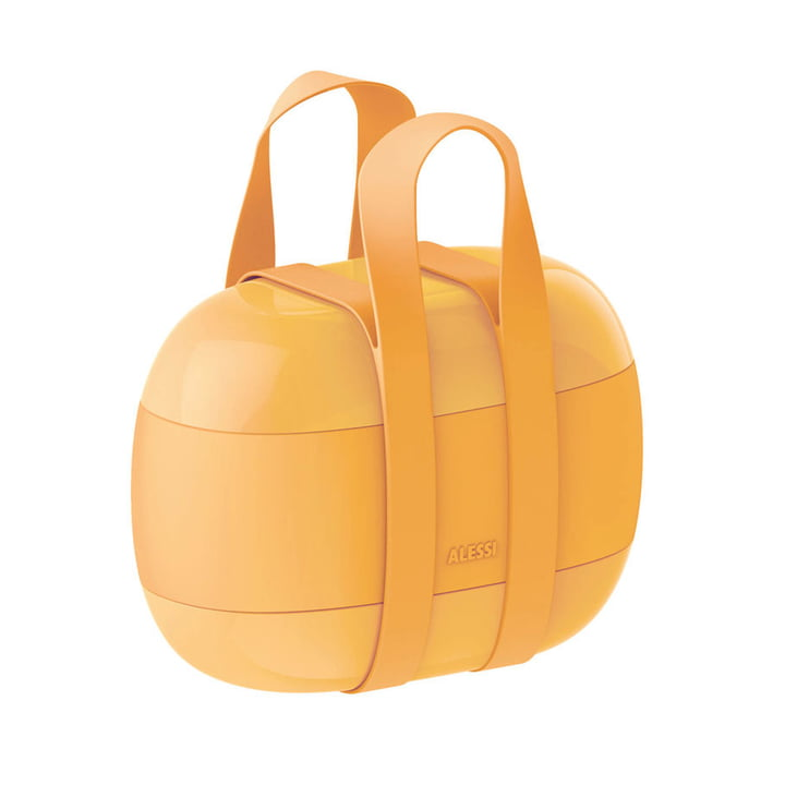 Food à Porter Lunchbox from Alessi in yellow