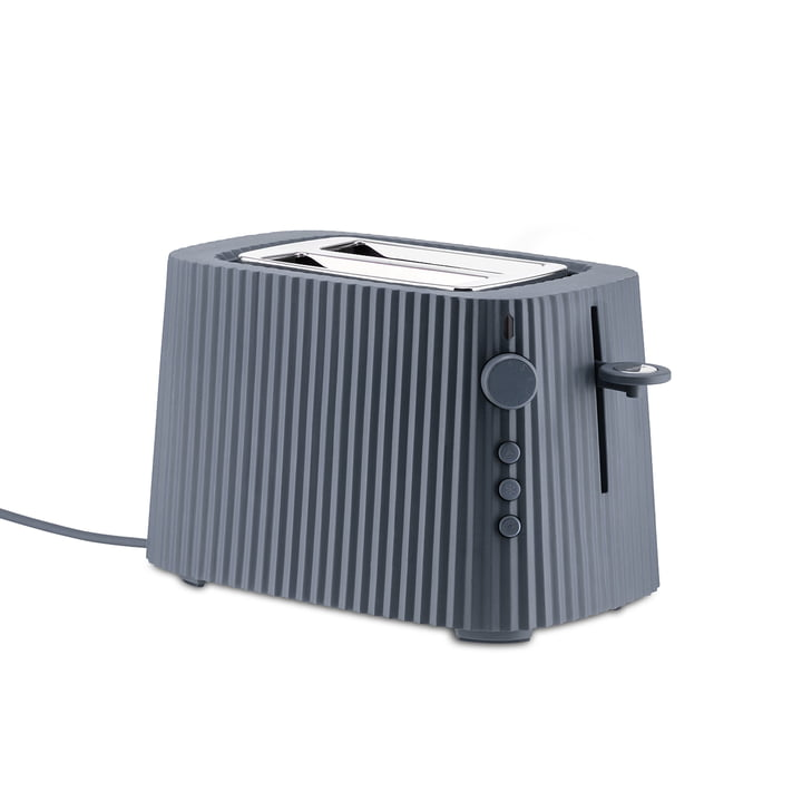 The Plissé Toaster, grey by Alessi