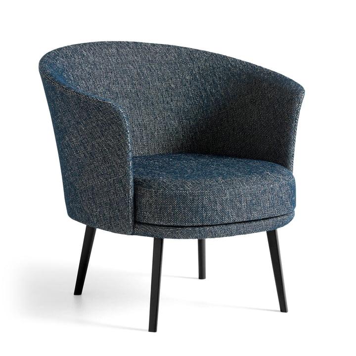 The Dorso armchair, powder-coated steel, fairway dark blue (308-288) by Hay