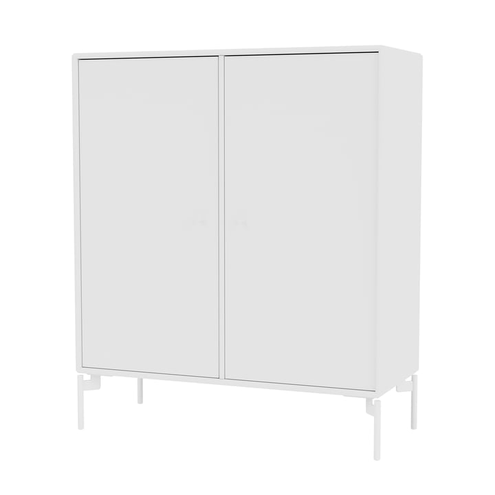 The Cover cabinet with legs, snow / new white from Montana