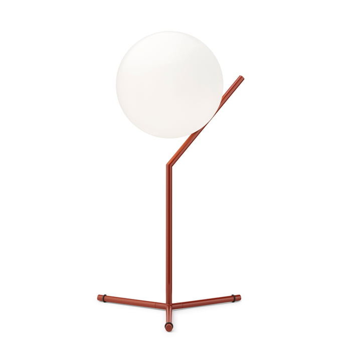 IC T1 High BRO table lamp, burgundy red by Flos