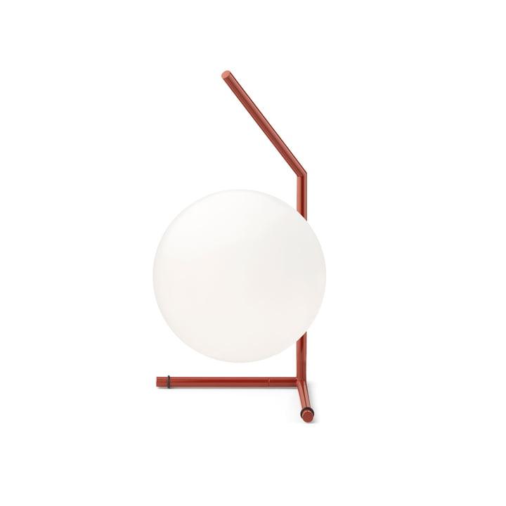 IC T1 Low BRO table lamp, burgundy by Flos