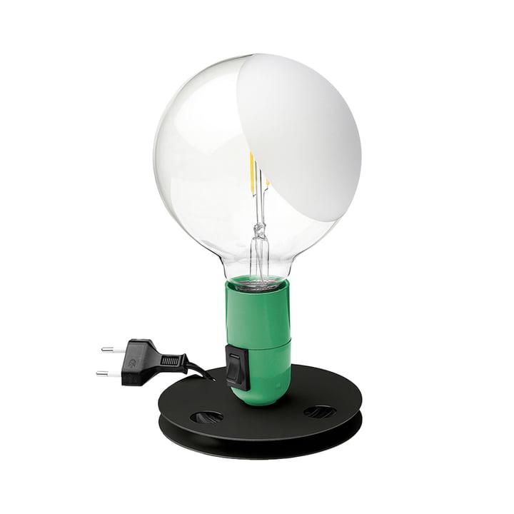 Lampadina LED table lamp, green by Flos