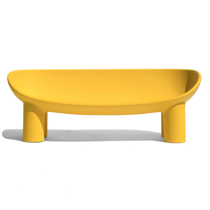 Roly Poly Sofa, ochre from Driade