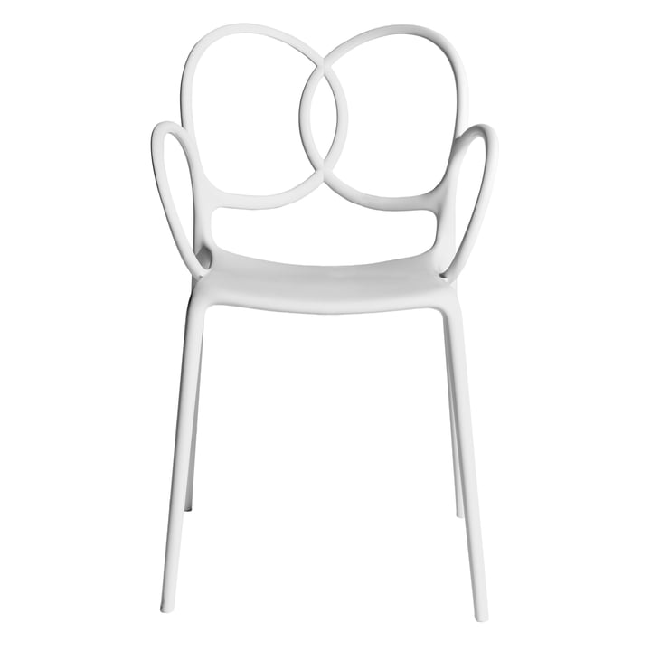 Sissi armchair, white from Driade