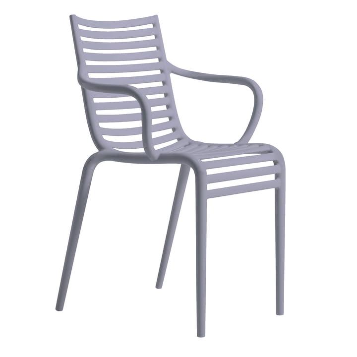 The PIP-e armchair, lavender by Driade
