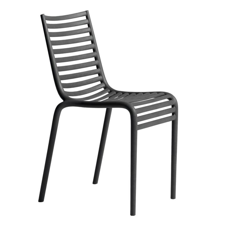 PIP-e chair, dark grey from Driade