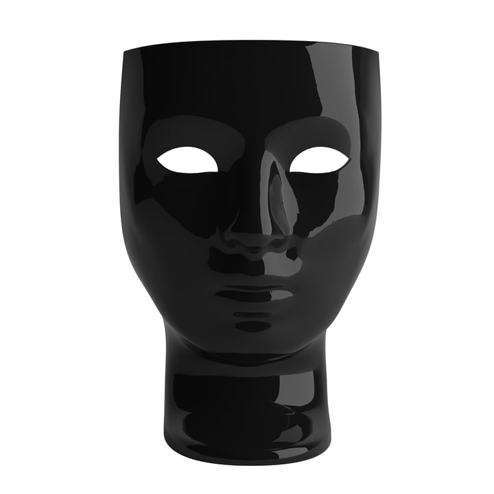 Nemo Armchair, shiny black from Driade