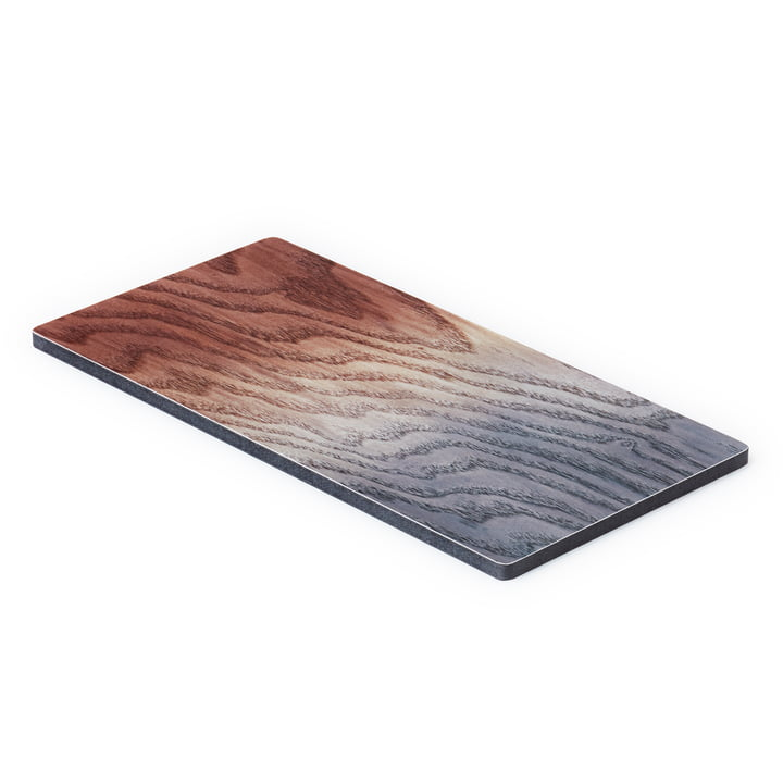The A Tribute to Wood Tapas Board small, brown / grey from applicata
