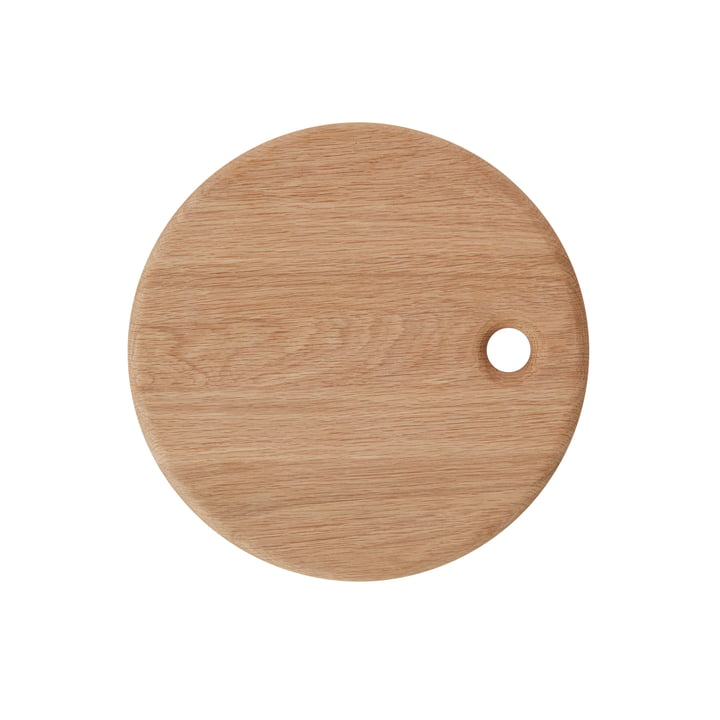 The Yumi cutting board, Ø 31,5 cm, natural from OYOY