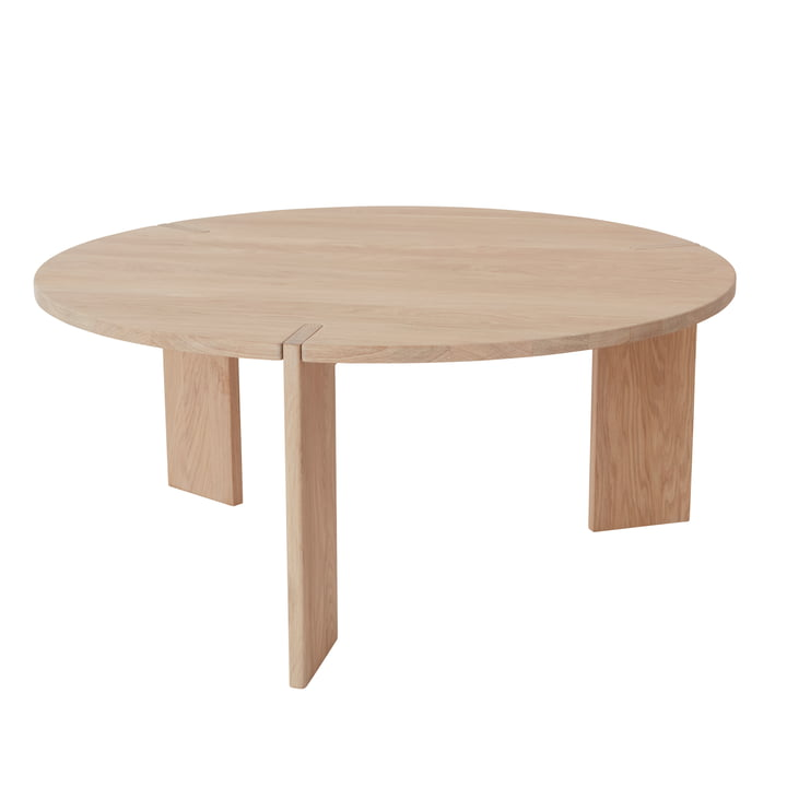 The OY coffee table, Ø 90 x H 40 cm, natural from OYOY