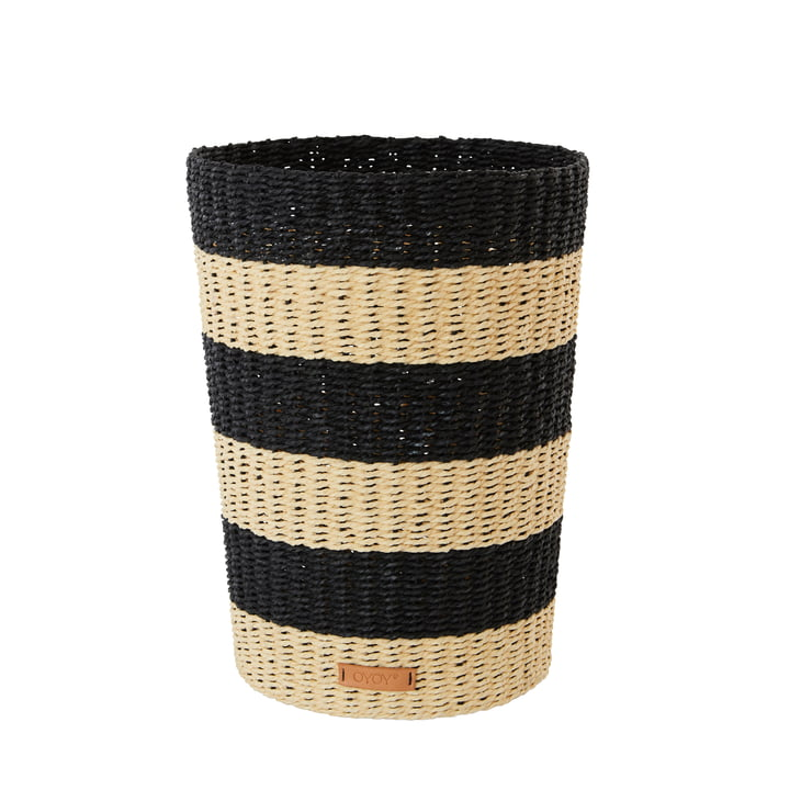 The Gomi wastepaper basket, natural from OYOY
