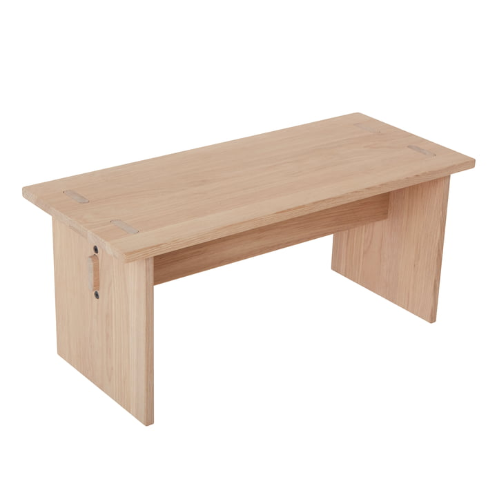 Arca children's bench, natural oak from OYOY