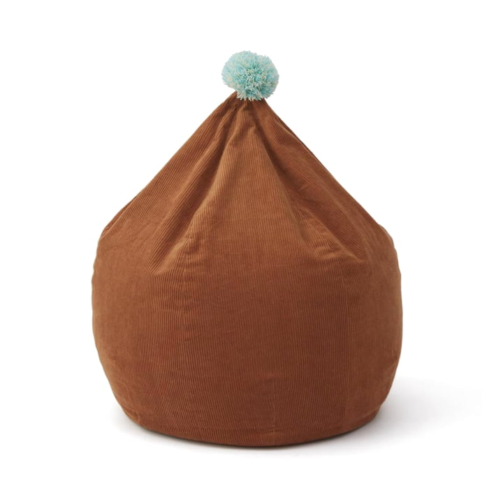 Corduroy beanbag, caramel by OYOY