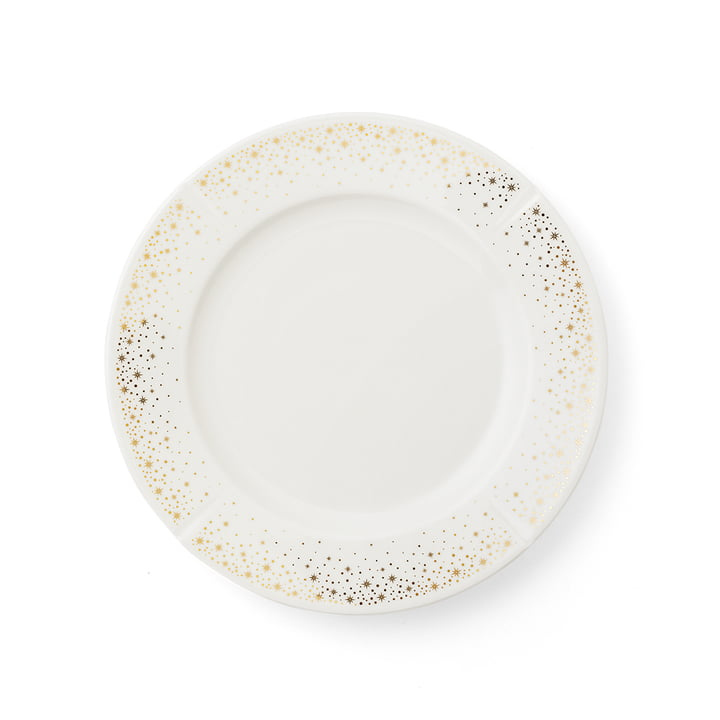 The Grand Cru Moments plate, Ø 23 cm, white / gold by Rosendahl