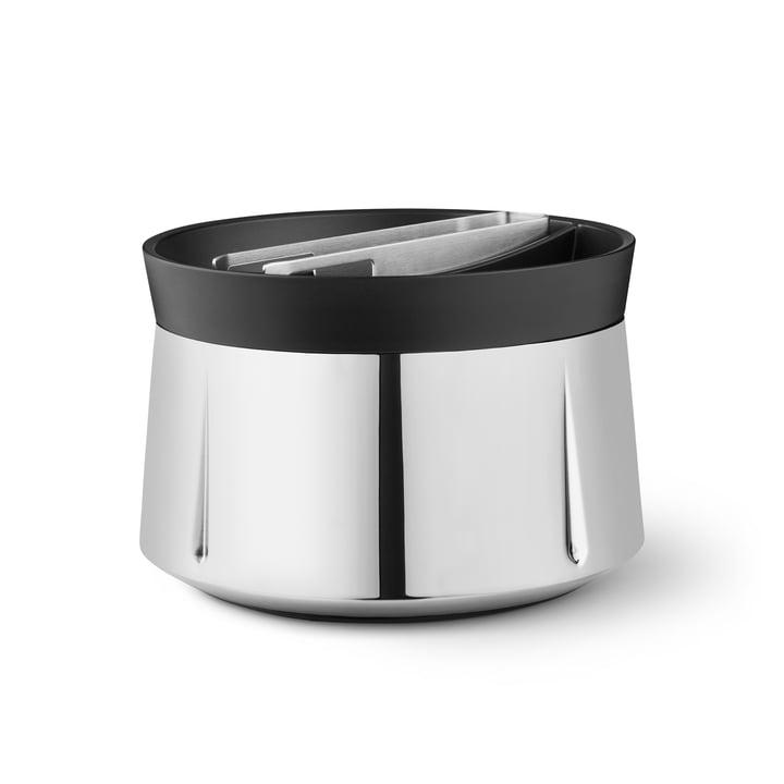 Grand Cru ice bucket, Ø 16 cm, stainless steel by Rosendahl