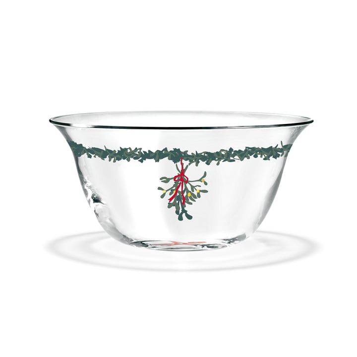 The Christmas bowl, Ø 12,5 cm, clear from Holmegaard