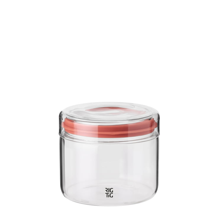 The storage Store-It jar with lid, 0.5 l from Rig-Tig by Stelton