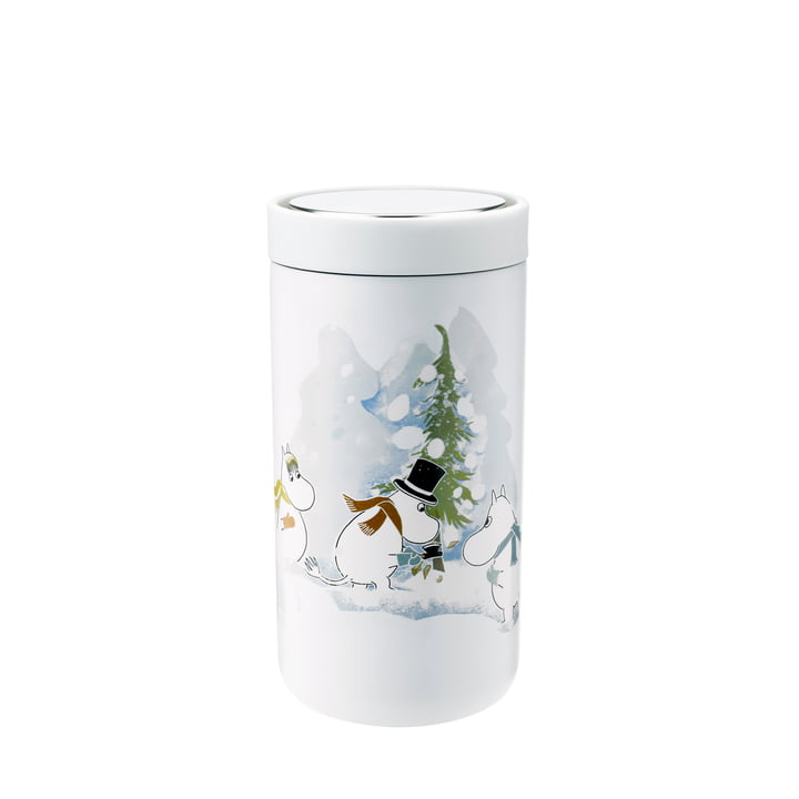 Stelton - To Go Click Moomin 0.2 l double-walled, soft white