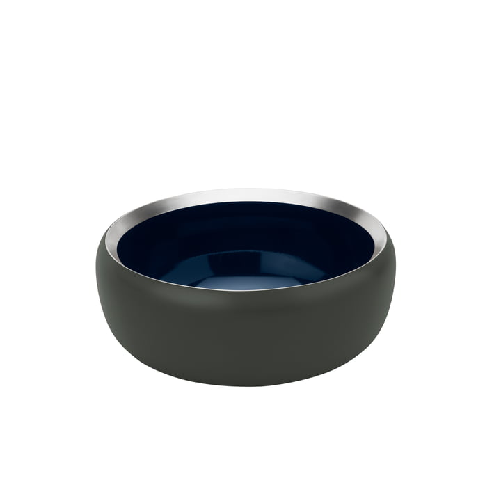 The Ora bowl Ø 15 cm, dark forrest / midnight blue from Stelton