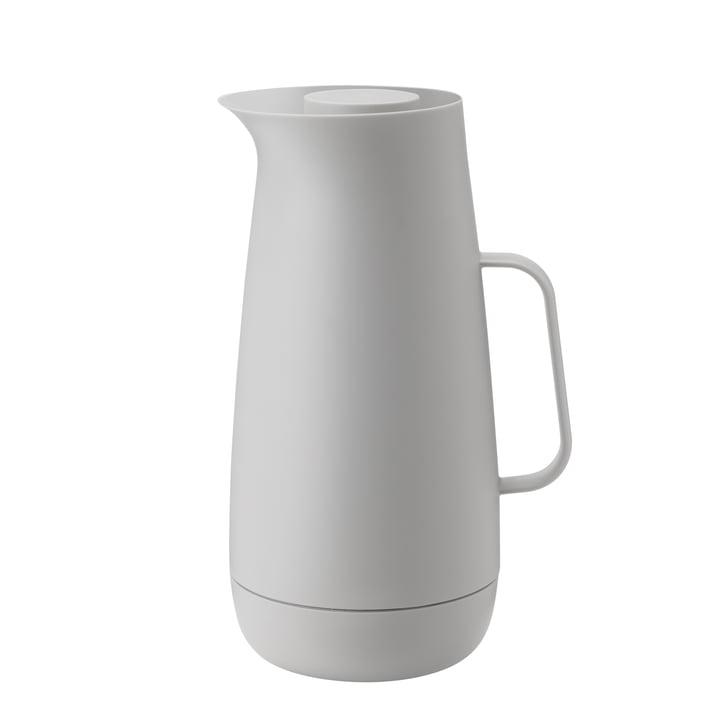 The Foster vacuum jug, 1 l, light grey from Stelton