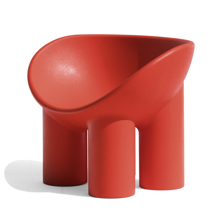 Roly Poly Armchair, red from Driade