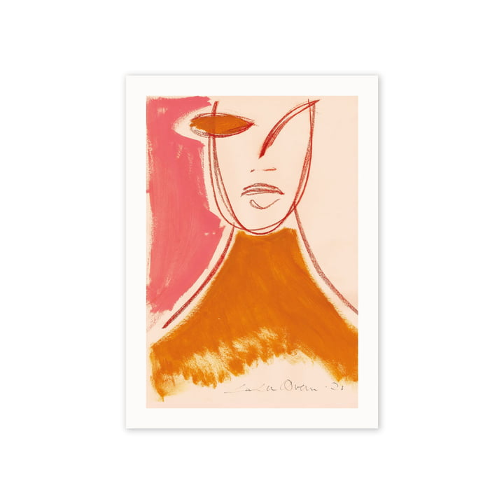 The Pink Portrait poster, 50 x 70 cm of Paper Collective
