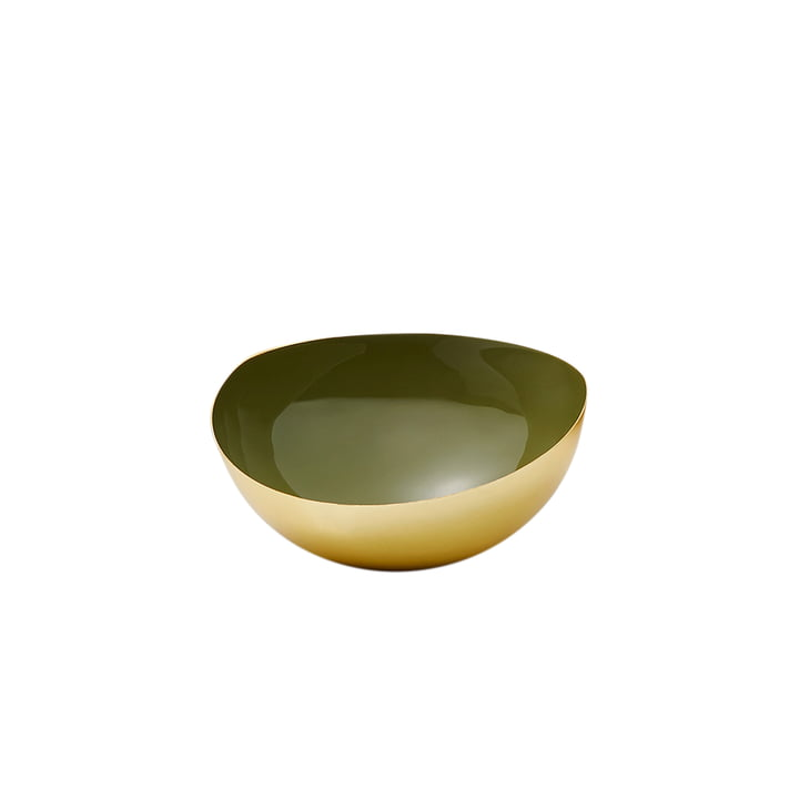 Elise bowl S, gold by Philippi