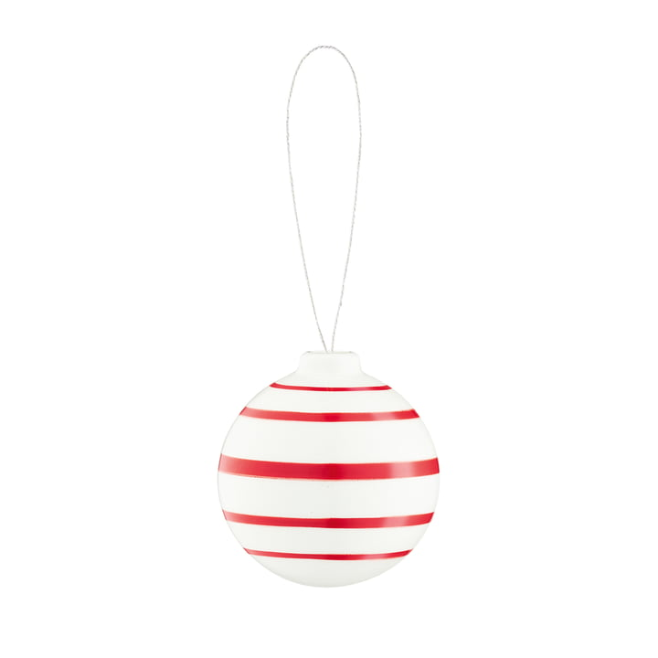 Omaggio Christmas tree ball, Ø 5 cm, red from Kähler Design