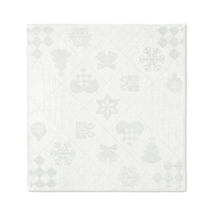 Natale Fabric napkins, 45 x 45 cm, off-white from Juna