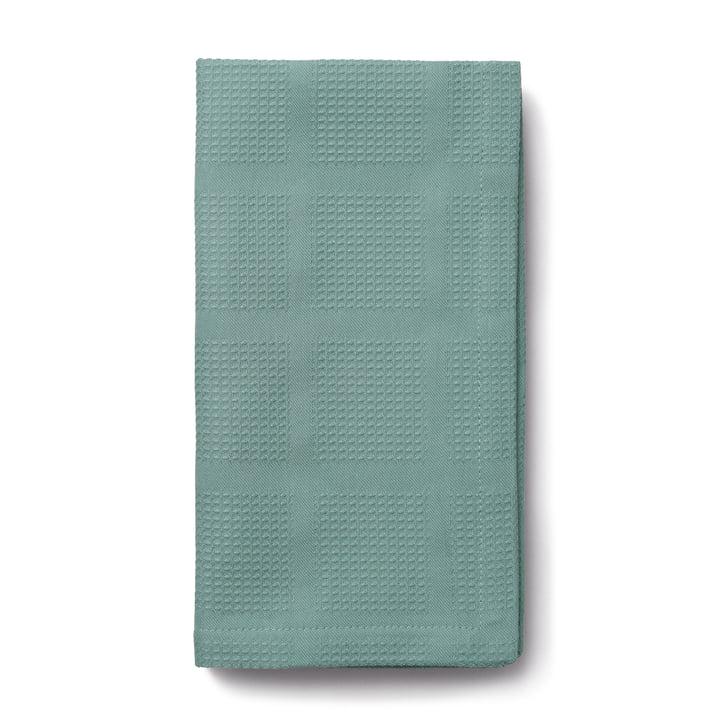 Brick Fabric napkins, 45 x 45 cm, turquoise from Juna
