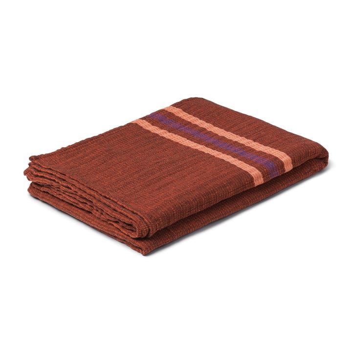 Comfort Blanket, 130 x 190 cm, chocolate from Juna