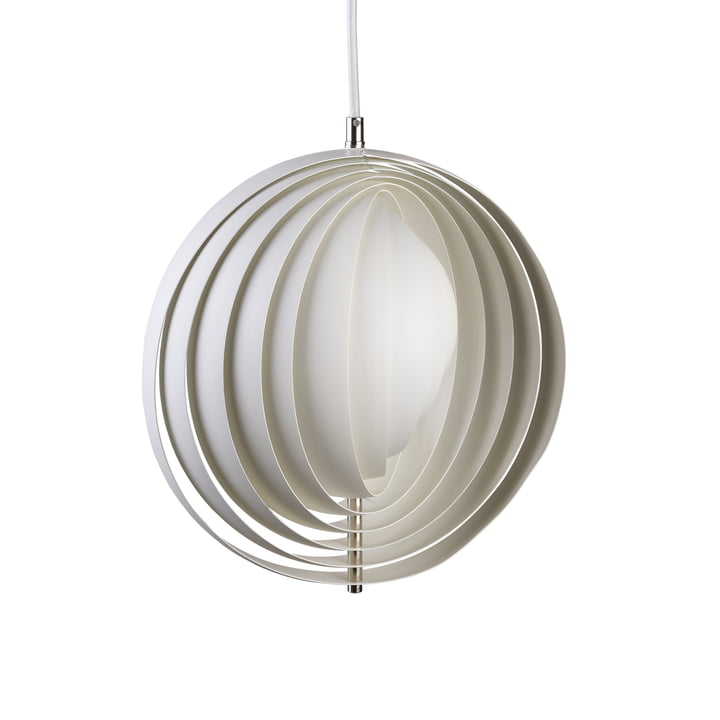 Retro light Moon from Verpan in white