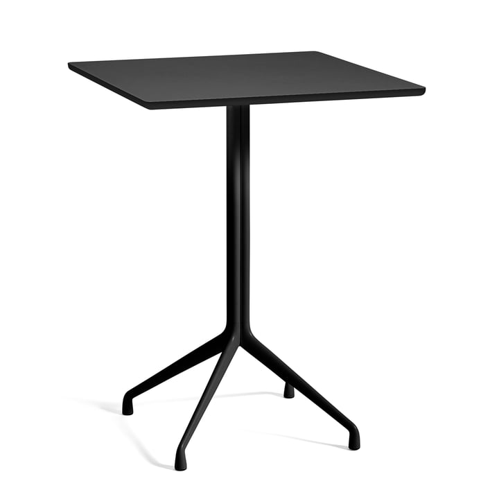 About A Table AAT 15 bar table 80 x 80 cm H105 cm from Hay in black