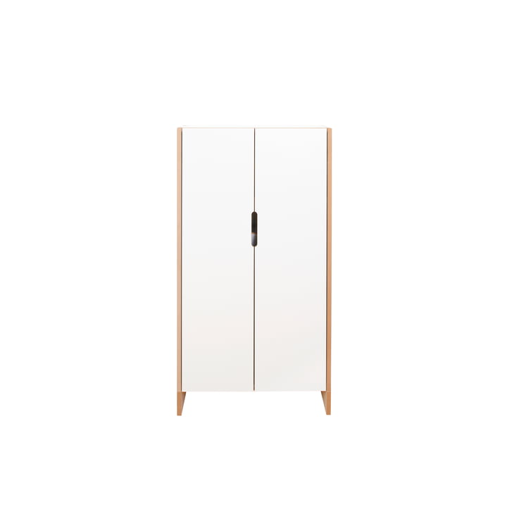 flachmann Shoe cabinet small standing, white from Tojo