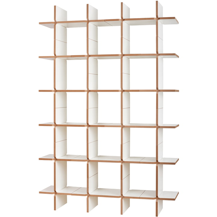 solo Shelving system module 12, white from Tojo