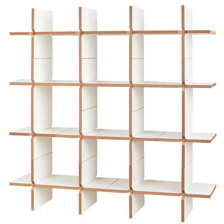 solo Shelving system module 8, white from Tojo