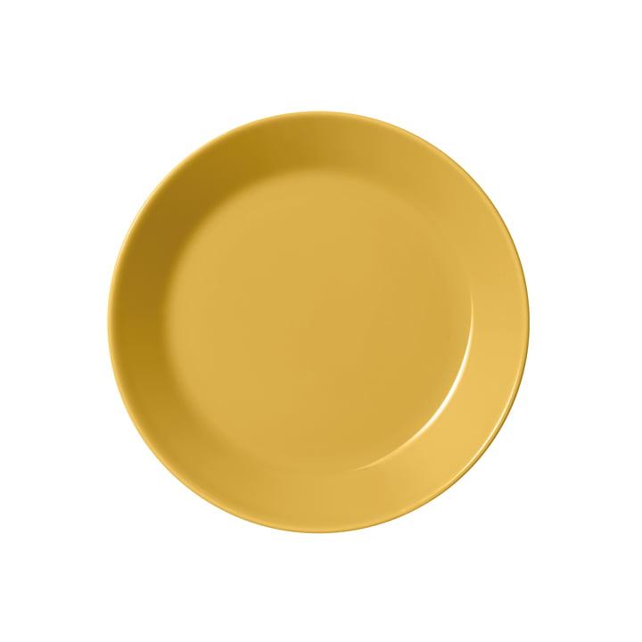 The Teema plate flat Ø 17cm, honey from Iittala