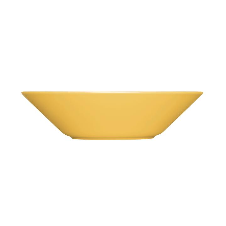 The Teema plate deep Ø 21 cm, honey from Iittala
