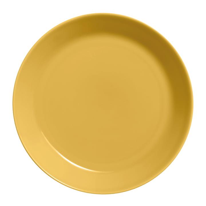 The Teema plate flat Ø 26 cm, honey from Iittala