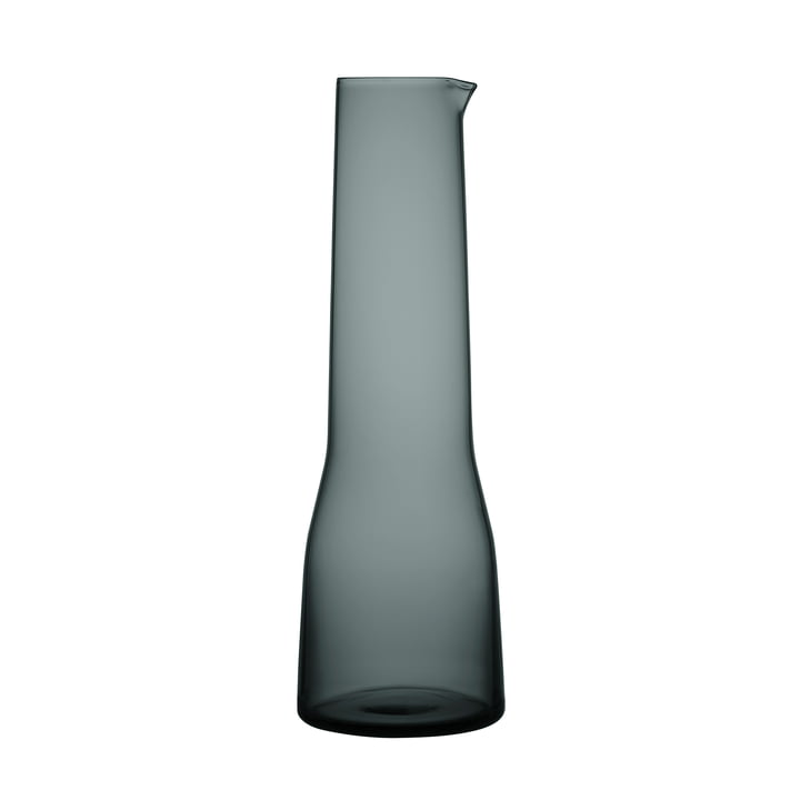 The Essence Carafe 1 l, dark grey from Iittala