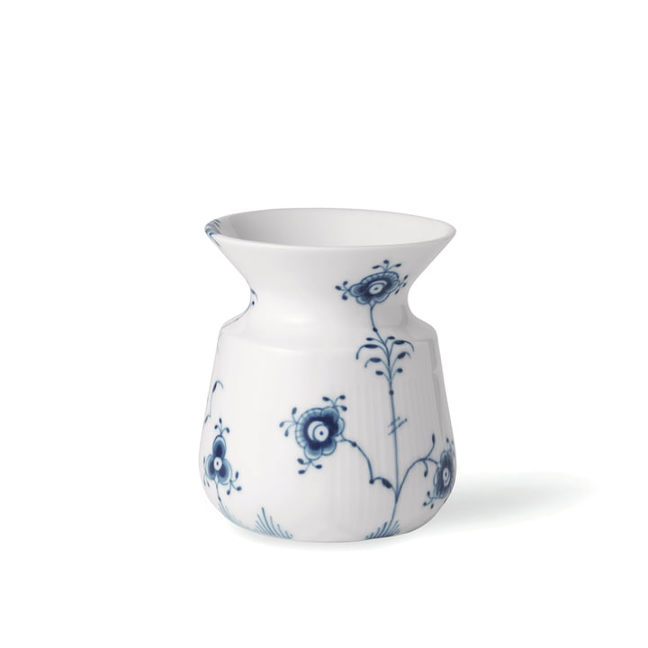 Elements Blue Vase H 10 cm from Royal Copenhagen