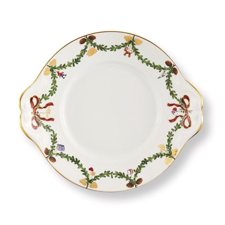 The Star Fluted Christmas platter, 27 cm from Royal Copenhagen