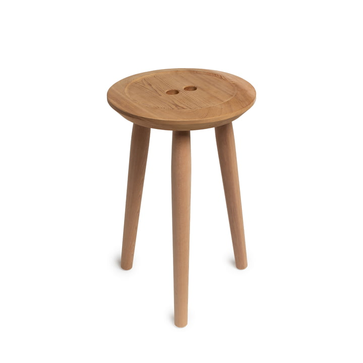 The Button stool, oak / Red Cedar from We Do Wood