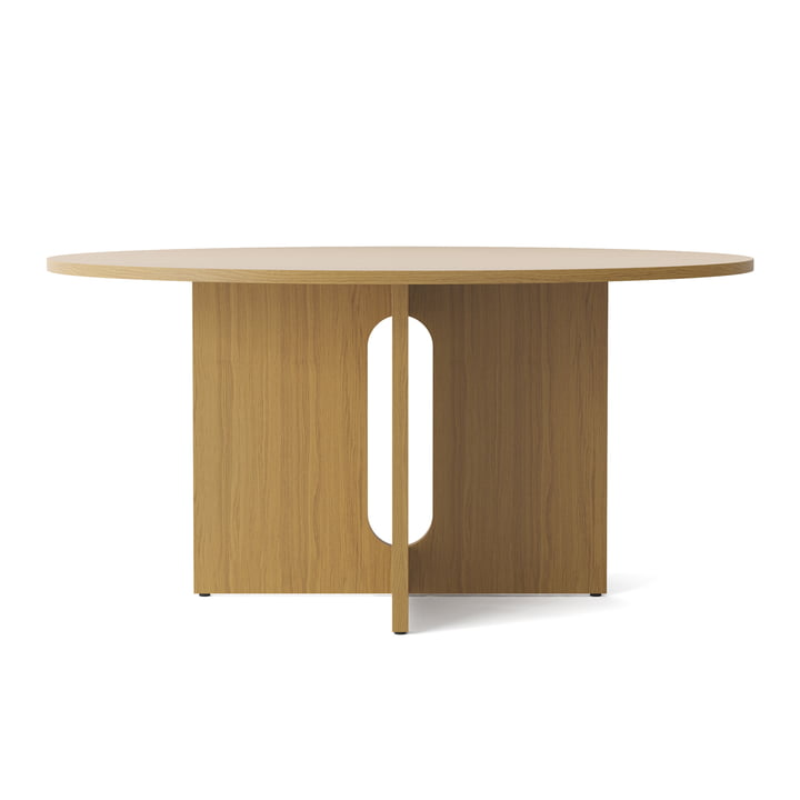 The Androgyne dining table Ø 150 cm, natural oak from Menu