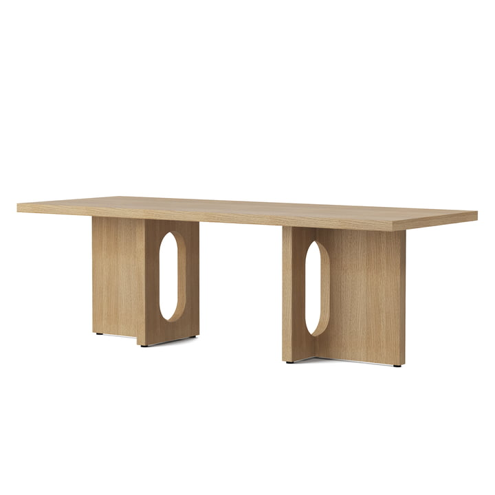 The coffee Androgyne table 120 x 45 cm, natural oak from Menu