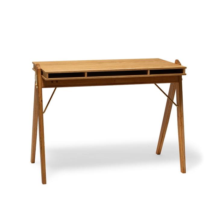 The Field folding table, oak from We Do Wood