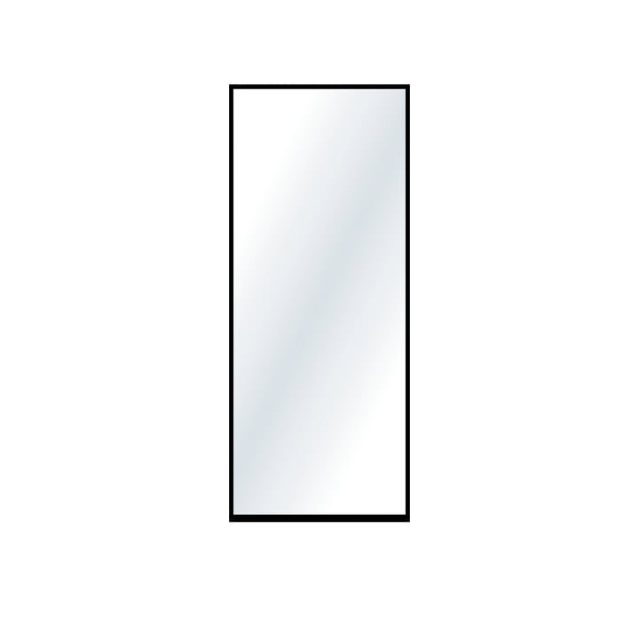 The large wall mirror from Nichba Design in black