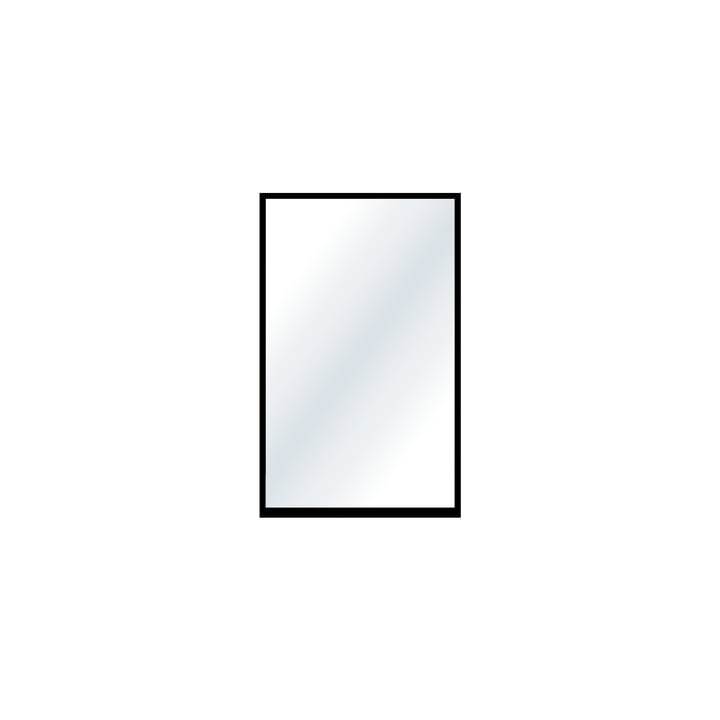 The small wall mirror from Nichba Design in black