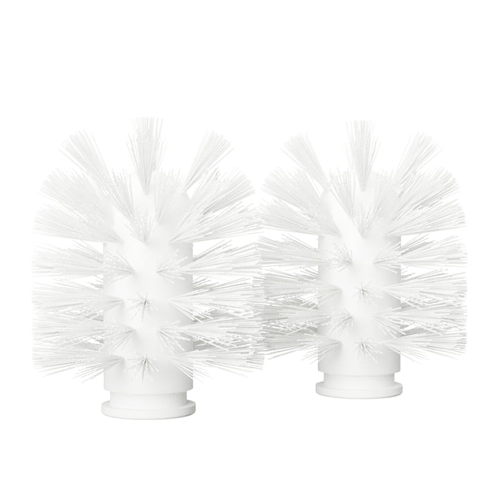 The replacement brush head from Nichba Design in white